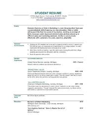 Sample Resume No Experience by Sample Resume No Experience Philippines