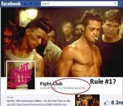 Club Meme - no one talks about fight club meme by bajeewa memedroid