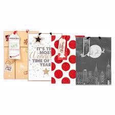 set of 4 luxury christmas gift bag extra large
