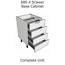 4 drawer base cabinet wide 4 drawer base units
