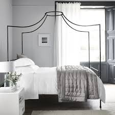 Black Four Poster Bed Frame Beaumont Four Poster Bed White Company Bed Furniture And Bedrooms