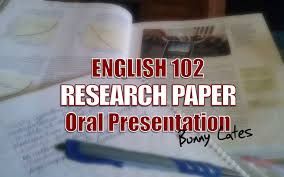 c language research papers ENG Research Paper Presentation DEATH OF THE ENGLISH