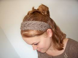knit headbands february lace headband pretty knit stitches