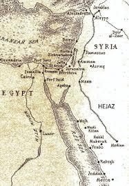 Gulf Of Aqaba Map Emeritus College Journal Asu