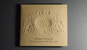 embossed photo album hardformat robag wruhme the lost archives 1998 2007
