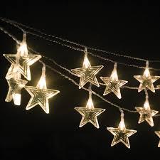 indoor christmas window lights battery operated warm white led acrylic star hanging window light