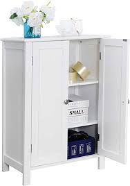 small storage cabinet with doors for kitchen zenstyle bathroom floor storage cabinet free standing side organizer kitchen pantry entryway cupboard with doors adjustable shelf