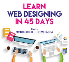 learn web design web designing course in zirakpur for working professionals