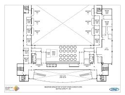 dance floor plan mezzanine