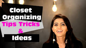 small closet organizing tips tricks u0026 ideas marie kondo youtube