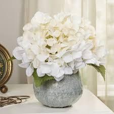 hydrangea white faux white hydrangea reviews joss