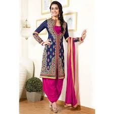 wedding boutique online patiala crepe indian prom long suits