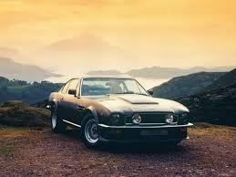vintage aston martin backgrounds car off road landscape mountain old horizon aston