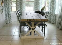 picnic style kitchen table incredible barn style dining room table amazing solid wood within