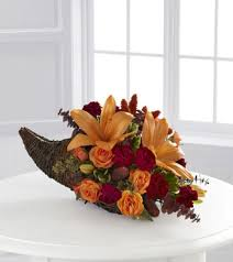 cornucopia arrangements ftd harvest home cornucopia arrangement blooms today