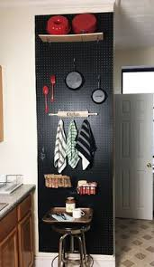 pegboard kitchen ideas 5 things to about painting pegboards for the kitchen the