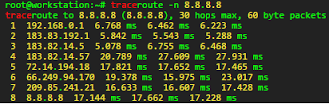 Homework    Ping and Tracert    Work Hard  Work Smart trace