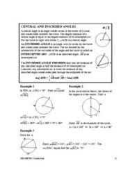 inscribed angle worksheet if angle aob is 40 degrees what is the