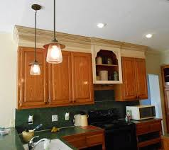Light Over Kitchen Sink Fascinating Upper Kitchen Cabinet End Shelf With Pendant Light