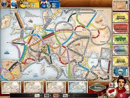 Asia Map Game by Ticket To Ride Comparative Geeks