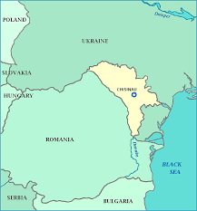 where is moldova on the map map of moldova moldova map cities rivers and bays of the black sea