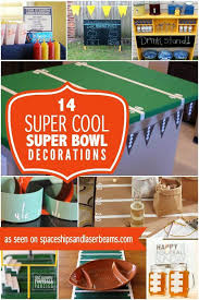 Diy Football Decorations 17 Amazing Super Bowl Party Decorating Ideas For 2017 Spaceships