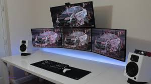 Big Gaming Desk Computer Desk Best Computer Desks Luxury Best Gaming Desks 2016