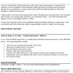 aldi cover letter retail resume cover letter what to have in a