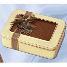 custom edible images large custom edible chocolate box filled w truffles 1 25 lbs