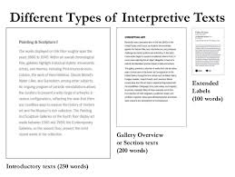 writing effective interpretive labels for art exhibitions a nuts and u2026