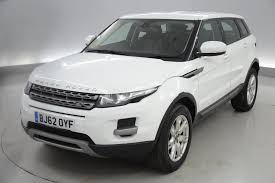 land rover white interior used 2012 land rover range rover evoque 2 2 ed4 pure 5dr 2wd