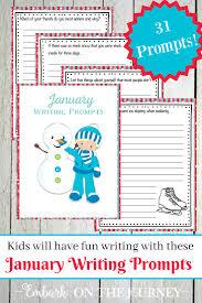 printable january writing prompts for kids