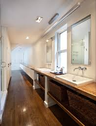 how to design a bathroom how to design a long narrow bathroom so that more efficient and