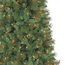 pre lit willow pine artificial tree 7