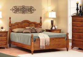 Hardwood Bedroom Furniture Sets by Oak Express Bedroom Furniture Freestanding Wooden Brown Rectangle