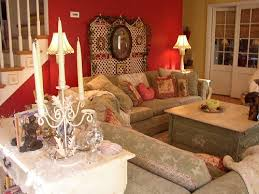 Cottage Chic Family Rooms Interior Design Decor - Cottage family room