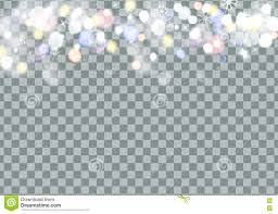 halloween card transparent background falling snow with snowflakes on transparent background stock