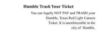 red light ticket texas humble trash your ticket home facebook