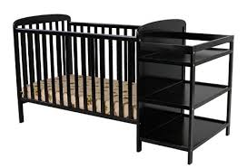 black crib with changing table best cribs with attached changing table the changing tables