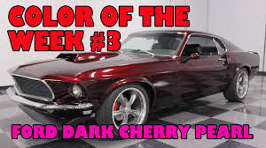 ford dark cherry pearl color of the week 3 youtube