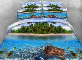 Tortoise Bedding Aliexpress Com Buy 3pcs Hd Digital Print Gorgeous Turtle Bed