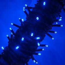blue led christmas string lights blue led christmas mini string light set 50 5mm lights indoor