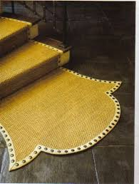 Yellow Runner Rug Stair Runners Nailhead Trim Shapes And Nail