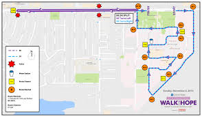 Bank Of America Map by Go Metro Gold Line To Walk For Hope La The Source