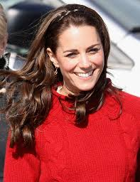 kate middleton long partially braided newest looks stylebistro