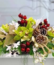 glorious winter centerpiece u2013 holiday u2013 christmas centerpiece