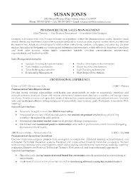 sample of sales representative resume pharmaceutical sales