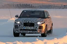 jaguar e pace baby suv 2018 early test mule spotted by car magazine