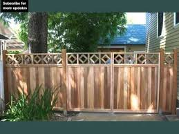 decorative fences for front yards fence collection and designs