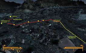 Fallout New Vegas World Map by Fallout New Vegas Gaining Entrance To Nellis Air Force Base